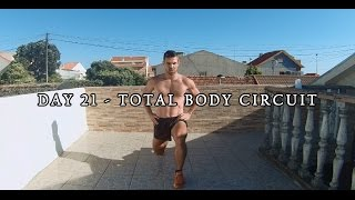DAY 21 - 25 MIN FAT BURNER WORKOUT - TOTAL BODY CIRCUIT