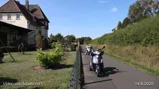 Längere Testfahrt mit unseren E- Dreirad- Rollern Eco Engel 500 nach Höringhausen, von tubehorst1