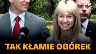 Tak kłamie Magdalena Ogórek.