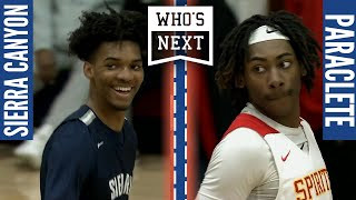 Sierra Canyon (CA) vs. Paraclete (CA) - 2020 ESPN3 Broadcast Highlights