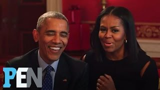 President Obama & Michelle Obama Answer Kids