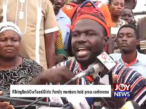 #BringBackOurTaadiGirls: The Police should hand over the suspect to us - Family member