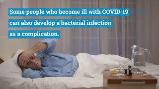 Coronavirus disease (COVID-19) is caused by a virus, NOT by bacteria