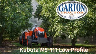 Kubota M5L-111 Walk Around