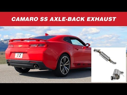 Hurst Elite Series Axle-back Exhaust System for the 2016 - 2017 Camaro SS w/ 6.2L V8 - 6350026