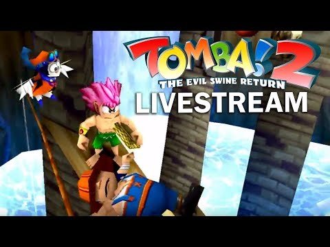Tomba! 2 - I WOULD REALLY PREFER IF YOU WOULD BE QUIET | TripleJump Live