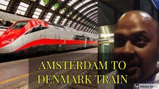 Amsterdam to Copenhagen by Train, Train travel in Europe