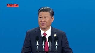 """Khai mạc Diễn đàn cấp cao hợp tác quốc tế """"Vành đai và con đường"""" tại Trung Quốc"""