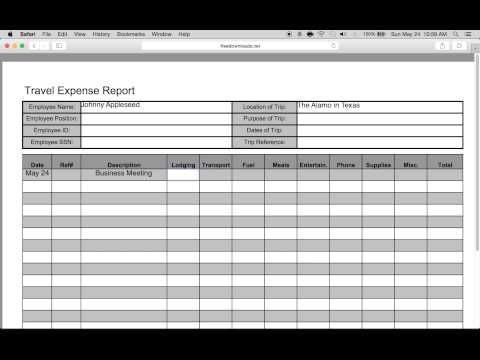 mp4 Business Expense Template Pdf, download Business Expense Template Pdf video klip Business Expense Template Pdf