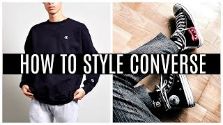 HOW TO STYLE HIGH TOP CONVERSE   Daniel Simmons