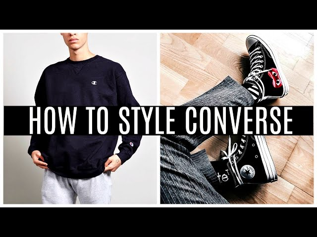 How To Wear Converse YouTube
