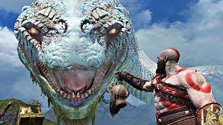 God of War 4 - ALL World Serpent GIANT SNAKE Cutscenes (God of War 2018) PS4 Pro
