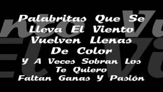 Acariciandote - Fondo Flamenco (Letra)