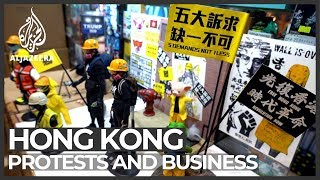 Hong Kong protests: some business thrive as movement spreads