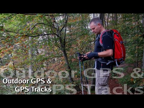 Outdoor GPS #1: Tracks planen