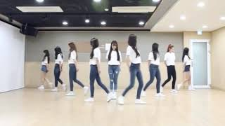 [MIRRORED] Cherry Bullet dancing to SNSD's 'Into The New World'