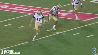 2019 Navy Football Top 5 Special Teams Plays