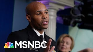 As Surgeon General Warns Of 'Pearl Harbor moment', U.S. Surpasses 9,000 COVID-19 Deaths   MSNBC