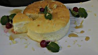 Нежная творожная запеканка - суфле   без муки и манки   Шикарный десерт