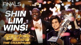 Shin Lim Is THE WINNER! - America's Got Talent: The Champions