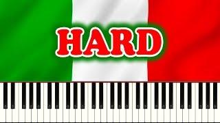 ITALIAN NATIONAL ANTHEM (Il Canto degli Italiani) - Piano Tutorial