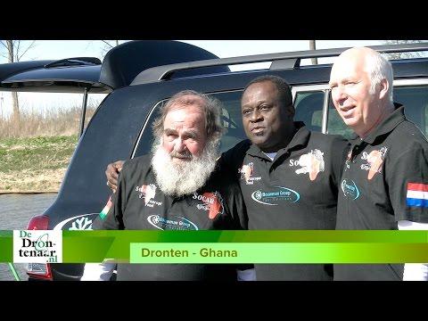 VIDEO | 'Drie musketiers' starten avontuurlijke rit van Dronten naar Ghana