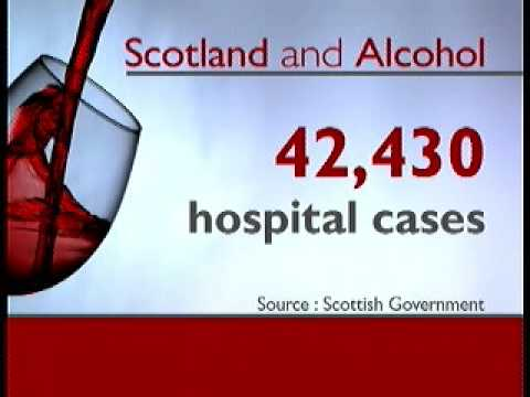 Scots Alcohol use a huge cost to the country