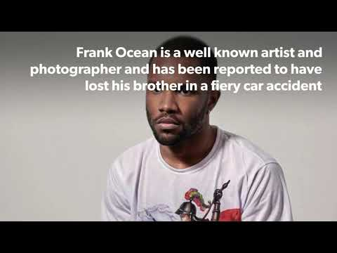 Frank Ocean loses his brother in car accident