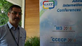 Prof. Saeed Shabestari at M3 Conference 2018 by GSTF