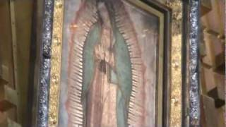 """Where it all happened. """"LA VILLA DE GUADALUPE"""", Mexico City. Our Lady, St. Juan Diego, Tepeyac Hill"""
