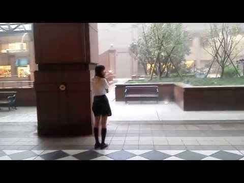 女子高生がゲリラ豪雨でずぶ濡れになってたので報告します