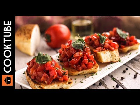 The Best Italian Bruschetta Recipe | Easy Appetizer Recipe