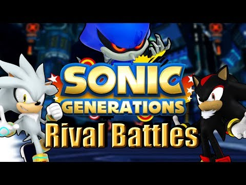 Download Sonic Generations Silver The Hedgehog Rival Battle