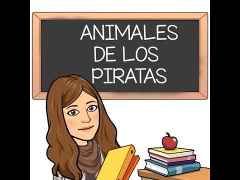 Animales de los piratas. Proyecto LOS PIRATAS. Educación Infantil.