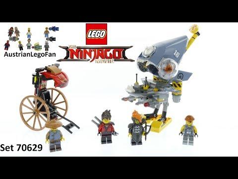 Vidéo LEGO Ninjago 70629 : L'attaque des Piranhas