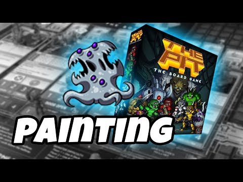 The Pit: The Board Game - how to paint MEDIUM PROTEAN