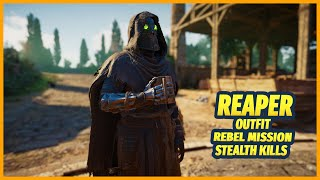 Assassin's Creed Valhalla Stealth Kills Reaper Outfit Rebel Mission