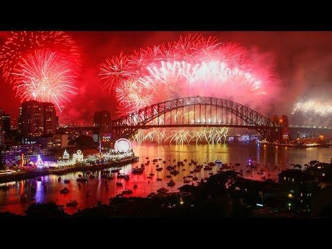 LIVE New Year Eve 2019 Fireworks • Countdown From Around The World