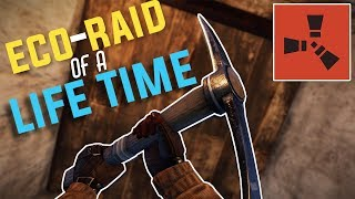 Rust - The ECO-RAID of a LIFE TIME! (Crazy Snowball + Going Deep)