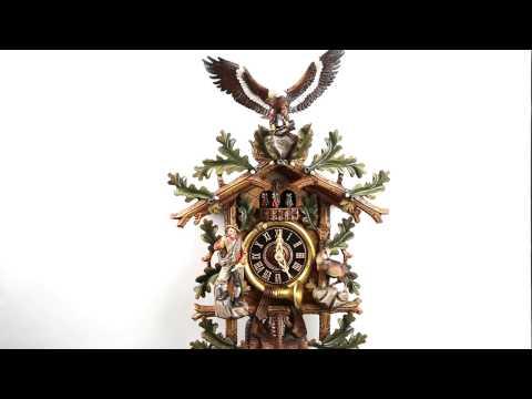 Kuckucksuhr Jagdstück | Cuckoo Clock Hunter Design| #54464