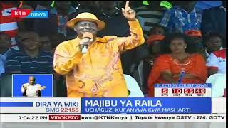 Raila Odinga afanya mkutano wake kisumu na kusisitiza kuwa NASA hawatashiriki katika uchaguzi