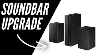 Samsung Wireless Rear Speaker Kit SWA-8500s - Unboxing & Setup