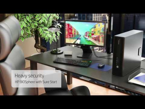 HP EliteDesk 705 G2 Small Format Factor 30 second demo
