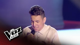 """Ramón: """"Hoy Tengo Ganas De Ti"""" – Audiciones a Ciegas  - La Voz Kids 2018"""