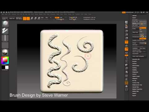 zbrush a quick question on alpha brush — polycount