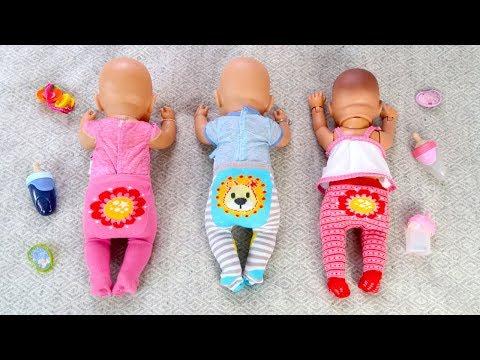КАК МАМА Укладывала Спать Беби Бон Куклы Пупсики Мультик для детей 108мама тиви видео