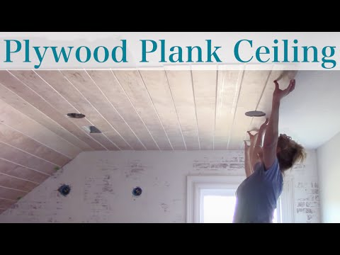Plywood Faux Plank Ceiling Mp3