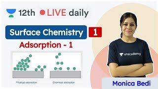 CBSE Class 12: Surface Chemistry L1 | NCERT | Chemistry | Unacademy Class 11 & 12 | Monica