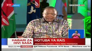 President Uhuru: Judiciary should expedite corruption cases, let Kenyans experience  real justice