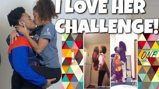 I LOVE HER CHALLENGE ❤️ DANCE COMPILATION ft. Bri Chief #wickerjigg #iloveher